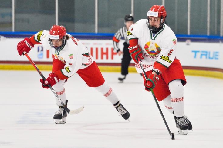 Сборная Беларуси по хоккею – участник четвертьфинала ЮЧМ-2021