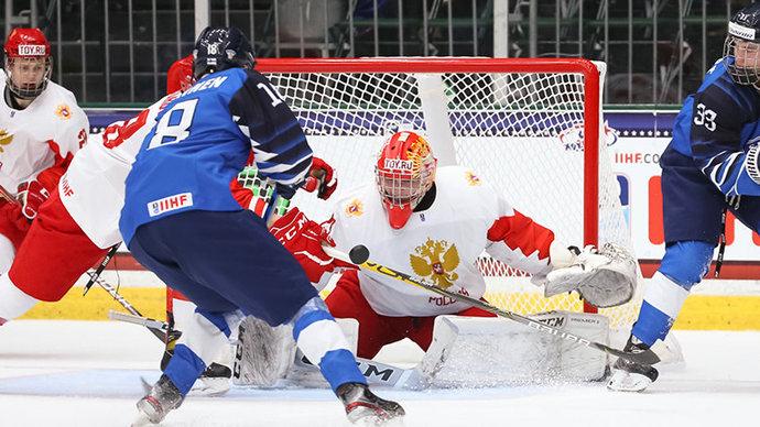 Сборная России по хоккею проиграла финской сборной на ЮЧМ 2021