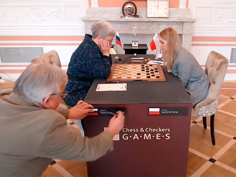Скандал на чемпионате мира по шашкам – снятие флага России во время игры