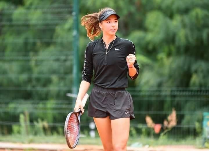 Победа юной Анастасии Соболевой 1/2 финала ITF W15