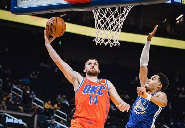 Святослав Михайлюк провел отличный матч за «Оклахому» в НБА