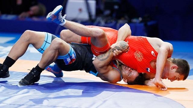 Борьба за бронзу на Чемпионате Европы по борьбе