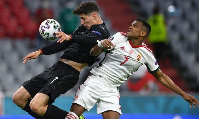 Сборная Германии на последних минутах оформила себе путёвку в 1/8 финала Евро-2020