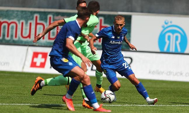 Динамо потерпело очередное поражение на сборах