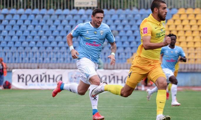 ФК «Минай» добыл сенсационную победу над «Александрией» на последних секундах матча