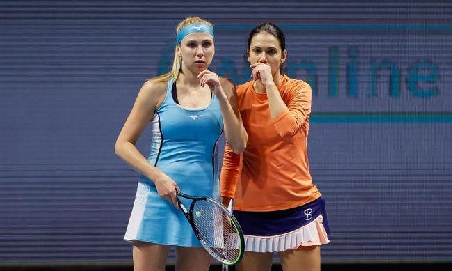 Надежда Киченок пробилась в финал парного разряда турнира WTA в Москве