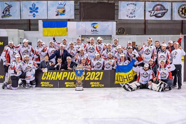 ХК «Донбасс» сумел вернуть себе титул чемпиона УХЛ
