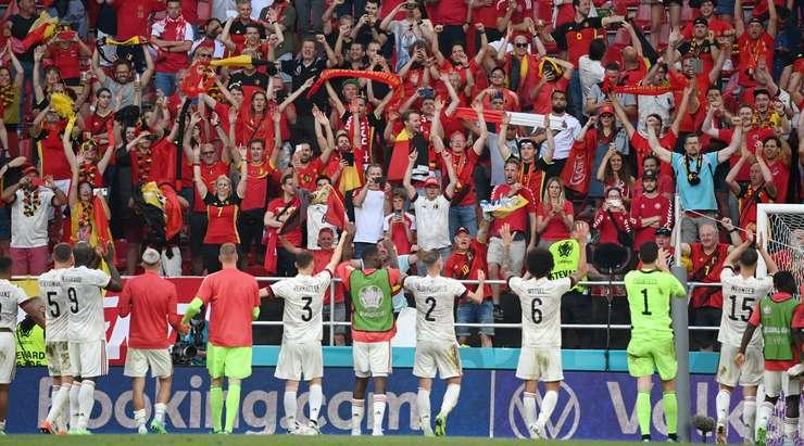 Сборная Бельгии обыграла Данию и прошла в 1/8 финала Евро-2020