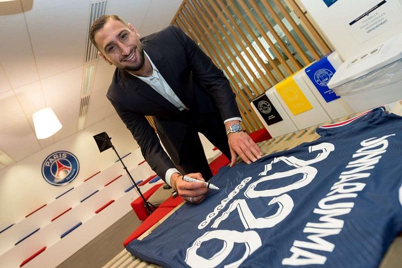 Итальянский голкипер Доннарумма рассказал, кто ему посоветовал перейти в «ПСЖ»