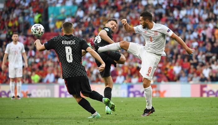 Испания вырвала победу у сборной Хорватии в дополнительное время