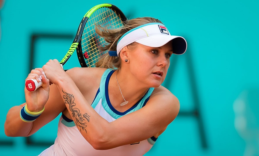 Катерина Козлова уступила на турнире WTA в Сен-Мало