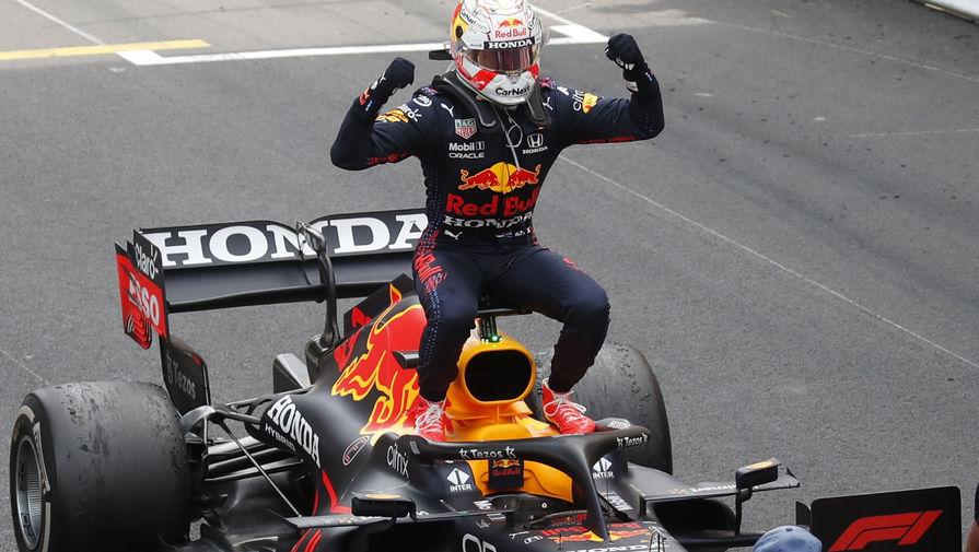 Макс Ферстаппен выигрывает гонку Формулы-1 в Монако