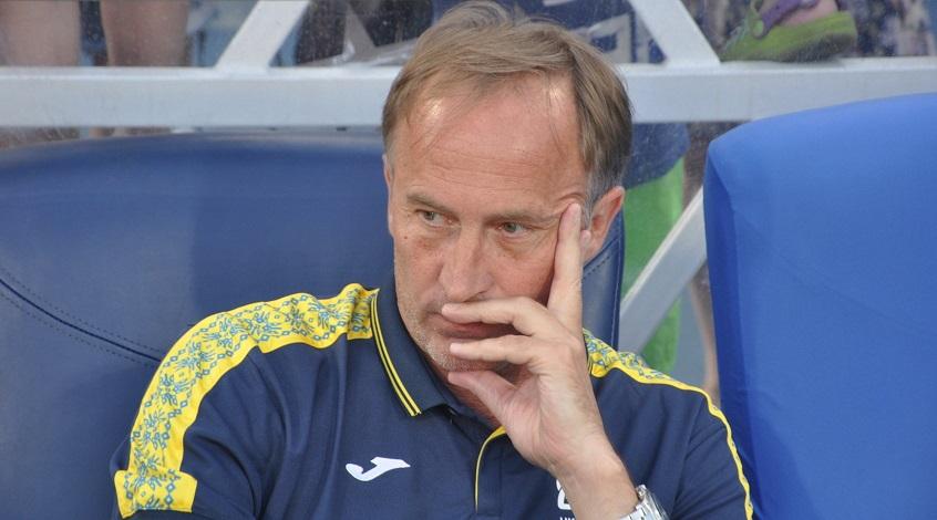Тренер сборной Украины Александр Петраков прокомментировал игру своих подопечных: «Я даже не знаю, что сказать»