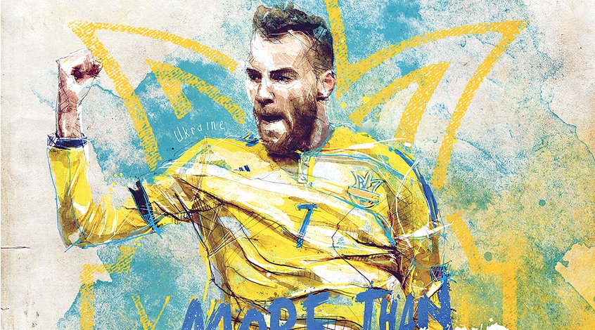 Сборная Украины уже 11 матчей не забивает больше 1 гола в ворота соперника