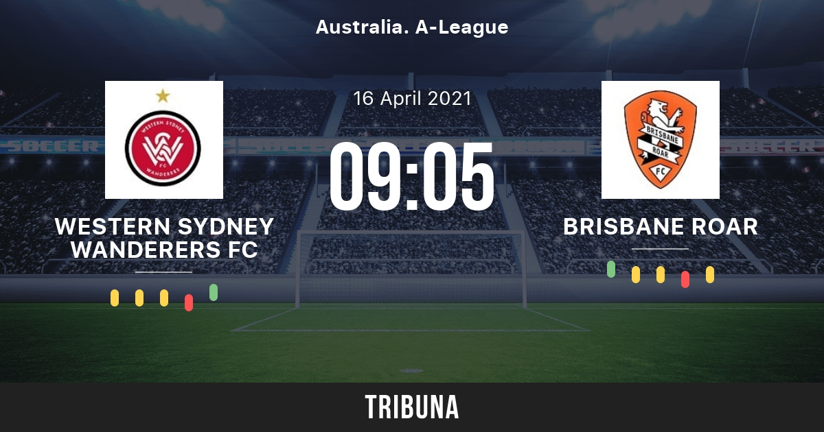 Футбол. Live. Австралийская А-лига. Western Sydney Wanderers FC vs. Brisbane Roar FC