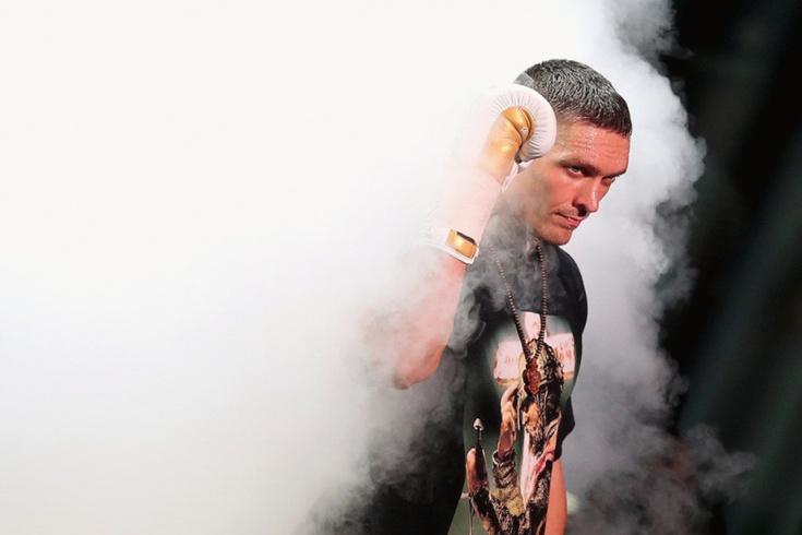 Александр Усик завершил свою трансформацию в боксера-супертяжа