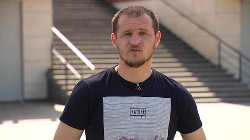 Экс-футболист киевского «Динамо» Александр Алиев снялся в видеоклипе