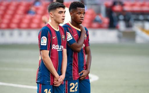 Руководство испанской «Барселоны» пересмотрит контракты Ансу Фати и Педри