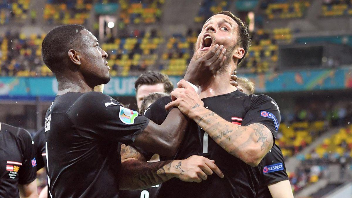 Нападающий сборной Австрии по футболу обвинен сборной Северной Македонии в расизме на Евро-2020
