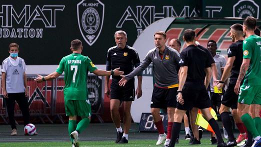 Игрок ФК «Ахмат» нарушил принцип fair play
