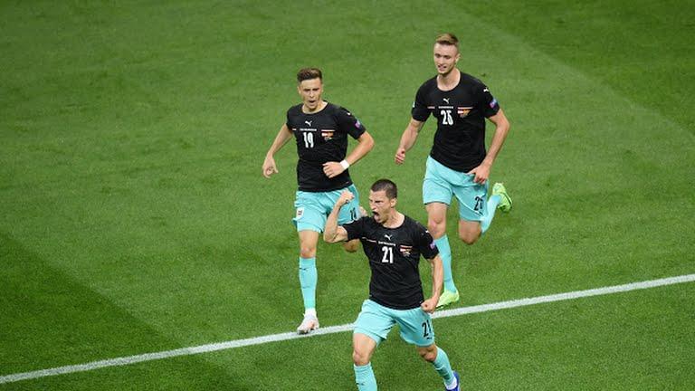 Сборная Австрии лидер в группе С после победы над Северной Македонией