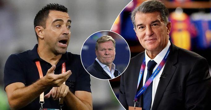 Между Лапортой и Хави Эрнандесом состоялся разговор касательно должности наставника «Барселоны»