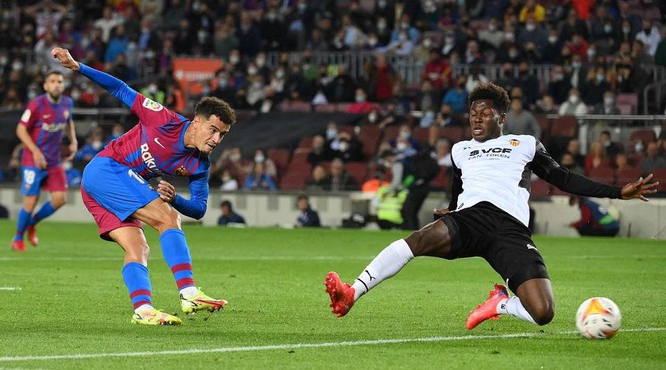 «Барселона» одержала домашнюю победу у «Валенсии» в 9 туре испанской Ла Лиги