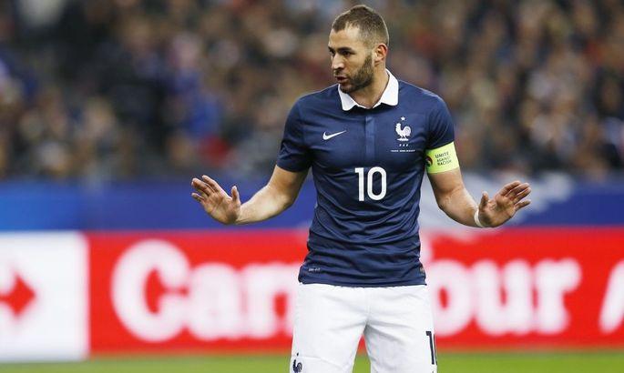 Карим Бензема повторил достижение Зидана по количеству забитых голов за сборную Франции по футболу