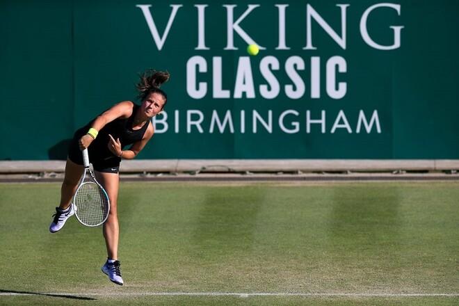 Марта Костюк прошла в 1/8 финала турнира WTA в Бирмингеме