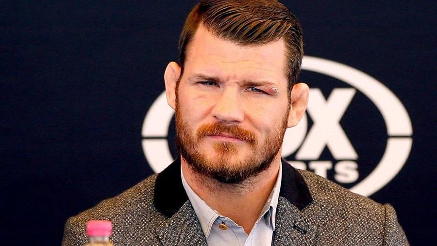 Экс-чемпион UFC Майкл Биспинг считает, что один из судей на бое Джошуа - Усик судил предвзято