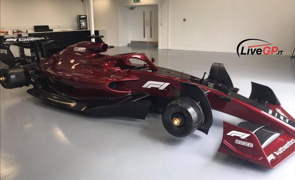 Для Формулы-1 создали обновленный тип болида на 2022 год