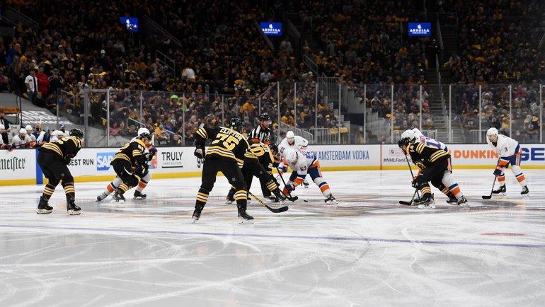 «Бостон» выиграл у «Айлендерс» в первом матче серии игр 1/4 финала Кубка Стэнли
