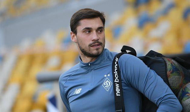 Голкипер киевского «Динамо» Георгий Бущан рассказал о состоянии своего здоровья