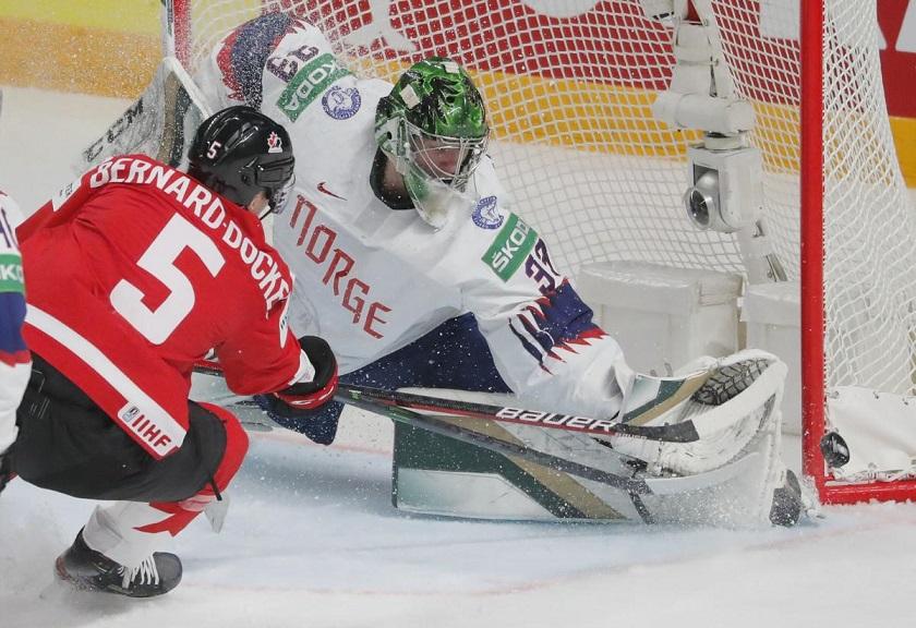 Сборная Канады обыграла сборную Норвегии, получив первую победу на ЧМ-2021 по хоккею