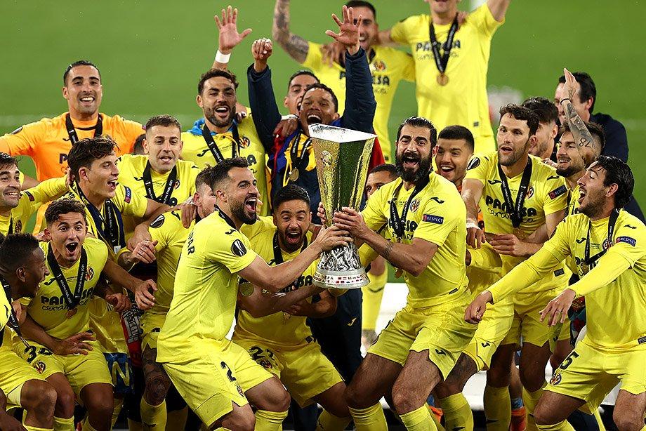 ФК «Вильярреал» выиграл Лигу Европы, обыграв в финале  «манкунианцев»