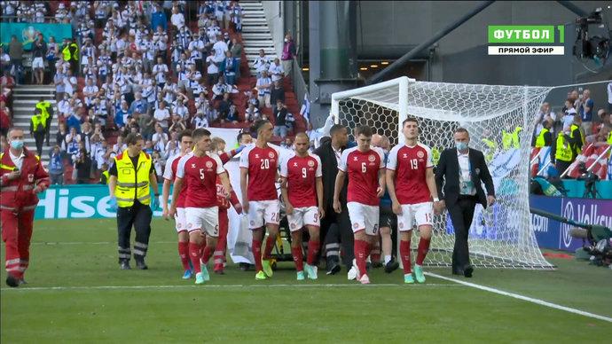 Когда футбол отходит на задний план: весь мир поддерживает Кристиана Эриксена и сборную Дании