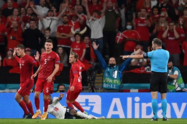 Реакции экспертов на пенальти в ворота сборной Дании на Евро-2020
