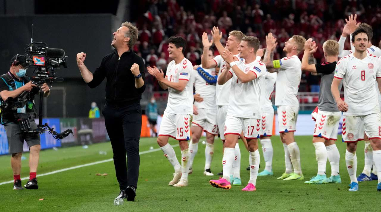 Дания установила рекорд на Евро-2020 выйдя в плей-офф с двумя поражениями в групповом этапе.