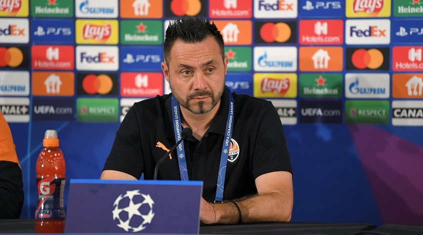 Роберто Де Дзерби подвёл итоги матча «Шахтер» - «Интер» на послематчевой пресс-конференции