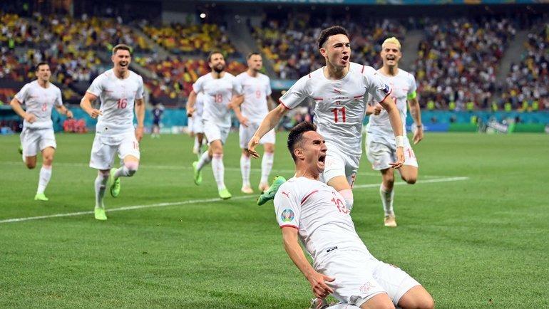 Сборная Франции проиграла сборной Швейцарии в серии пенальти