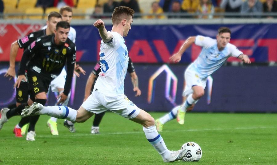 «Динамо» легко обыграло «Рух» в выездном матче 9 тура УПЛ