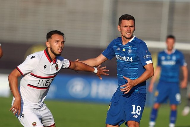 Первое поражение киевского «Динамо» на сборах от французской «Ниццы»