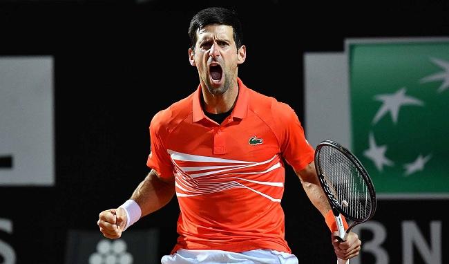 Джокович недоволен судьей на старте турнира Italian Open