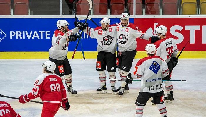 ХК «Донбасс» выиграл в матче против «Клагенфурта», но завершил свои выступления в рамках хоккейной Лиги чемпионов