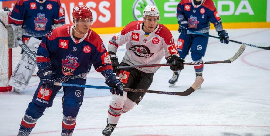 ХК «Донбасс» уступил в матче против ХК «Рунгстед» в хоккейной Лиге чемпионов