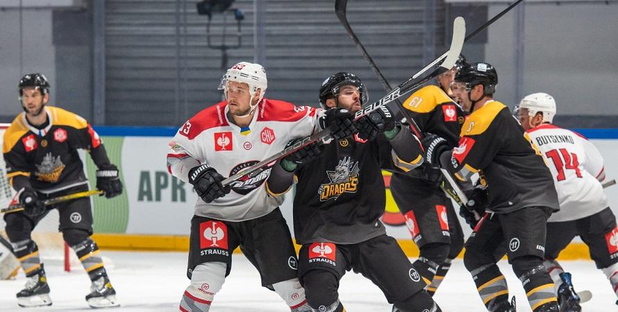 В матче группового этапа хоккейной Лиги чемпионов «Донбасс» проиграл «Руану»