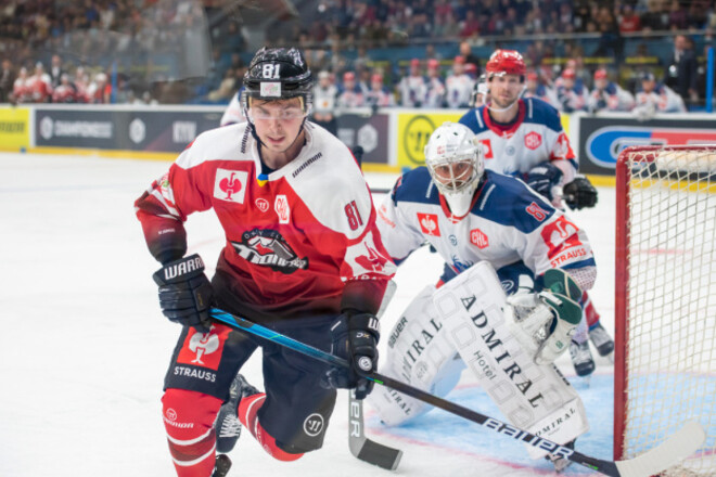 Донецкий «Донбасс» стартовал с проигрыша в хоккейной Лиге чемпионов