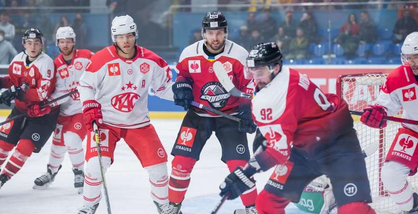 В Лиге чемпионов ХК «Донбасс» упустил победу в матче против австрийского «Клагенфурта»