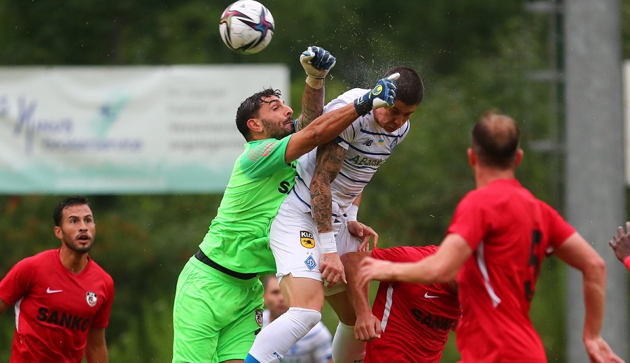 В последнем спарринге на третьих подготовительных сборах киевское «Динамо» обыграло турецкий «Газиантеп»