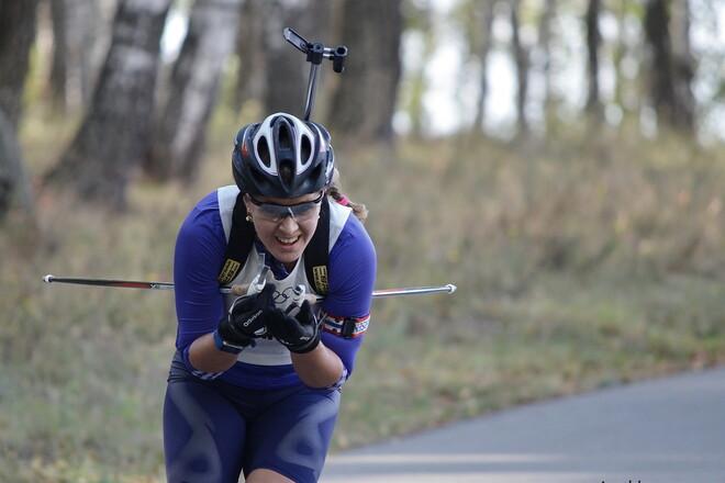 Юлия Джима взяла серебро на Чемпионате мира по летнему биатлону